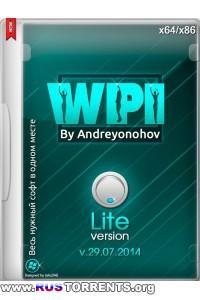 WPI DVD v.29.07.2014 Lite By Andreyonohov & Leha342  | PC