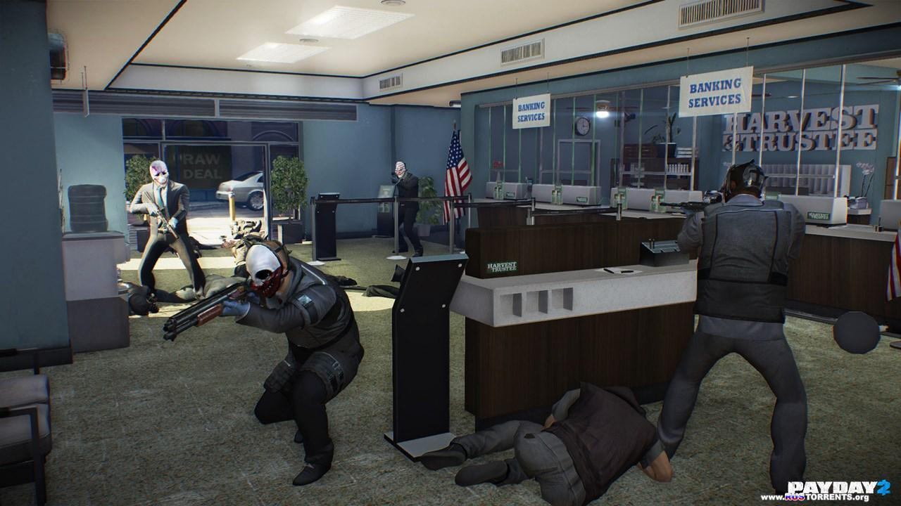 PayDay 2 | PS3 | Repack �� R.G. Inferno