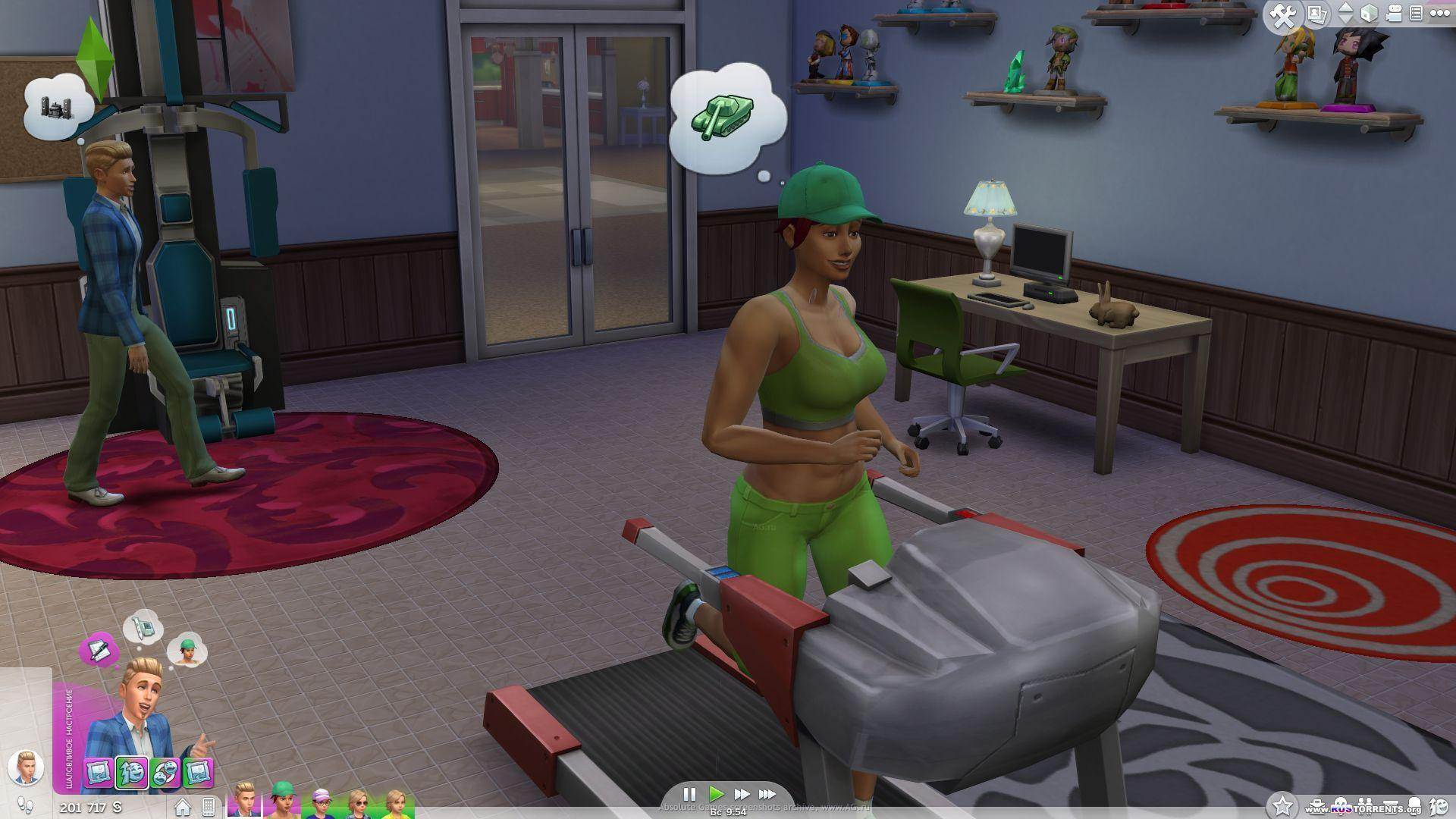 The Sims 4: Digital Deluxe Edition [v.1.0.732.20.]   PC   RePack by XLASER