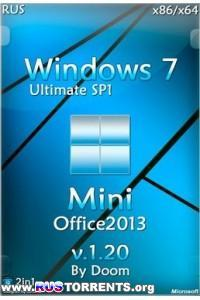 Windows 7 Ultimate x86/x64 Mini Office2013 v.1.20 by Doom 06.10.2014 RUS