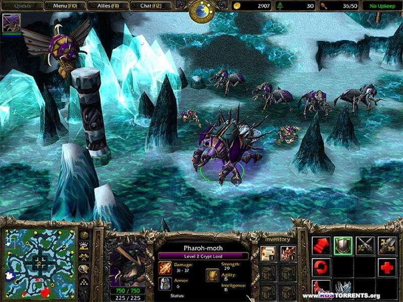 Warcraft III: Frozen Throne v.1.24c PC | RePack