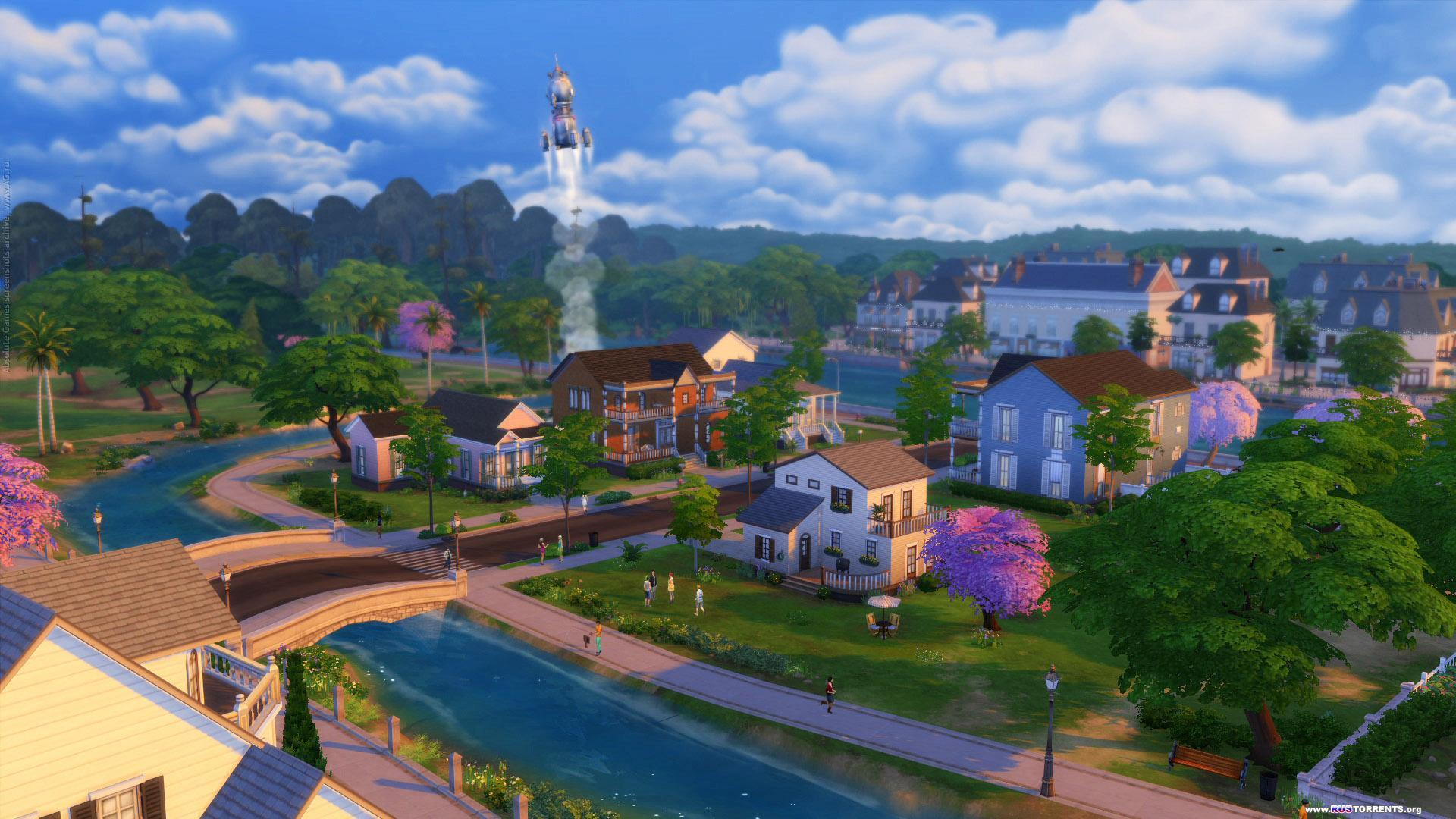 The Sims 4: Deluxe Edition [Update v1.2.16.10] | PC | Патч
