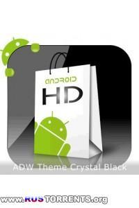 Theme Crystal Black Flat HD v13 | Android
