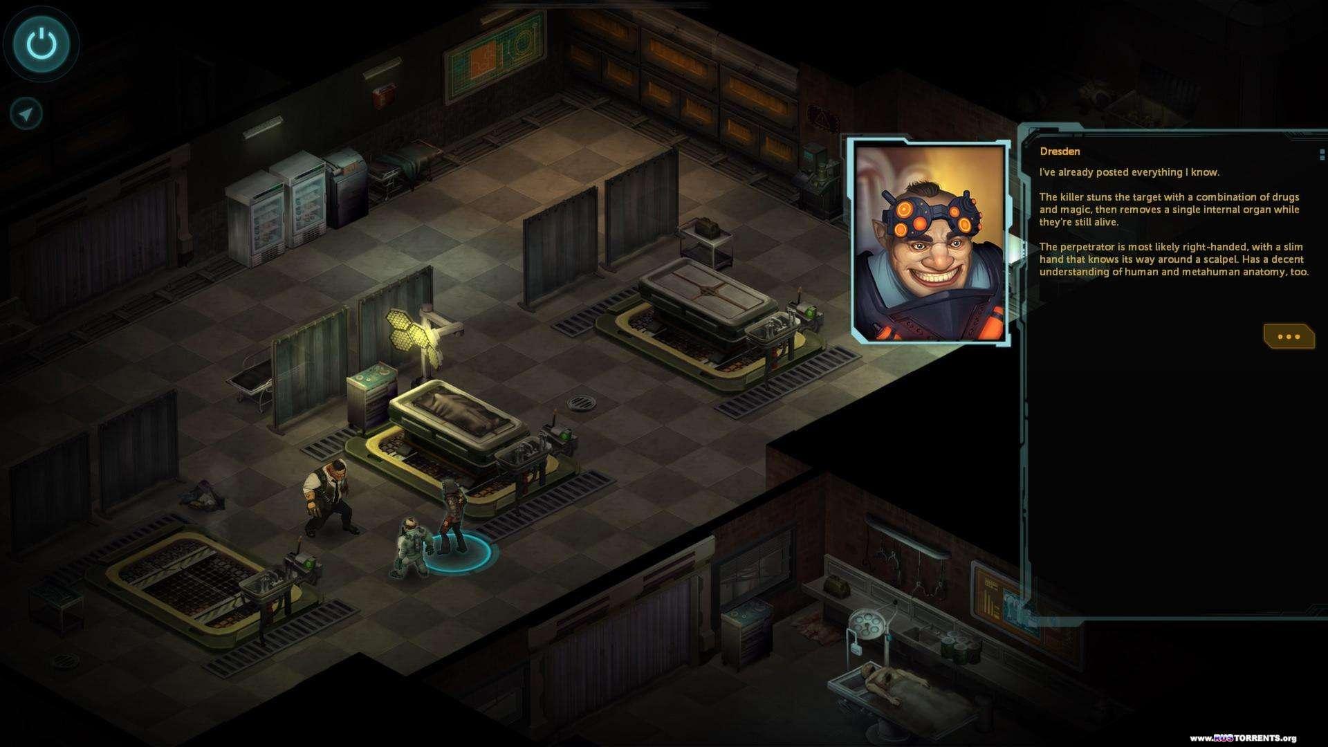 Shadowrun Returns: Deluxe Editon [v 1.2.7] | PC | Steam-Rip от R.G. Игроманы