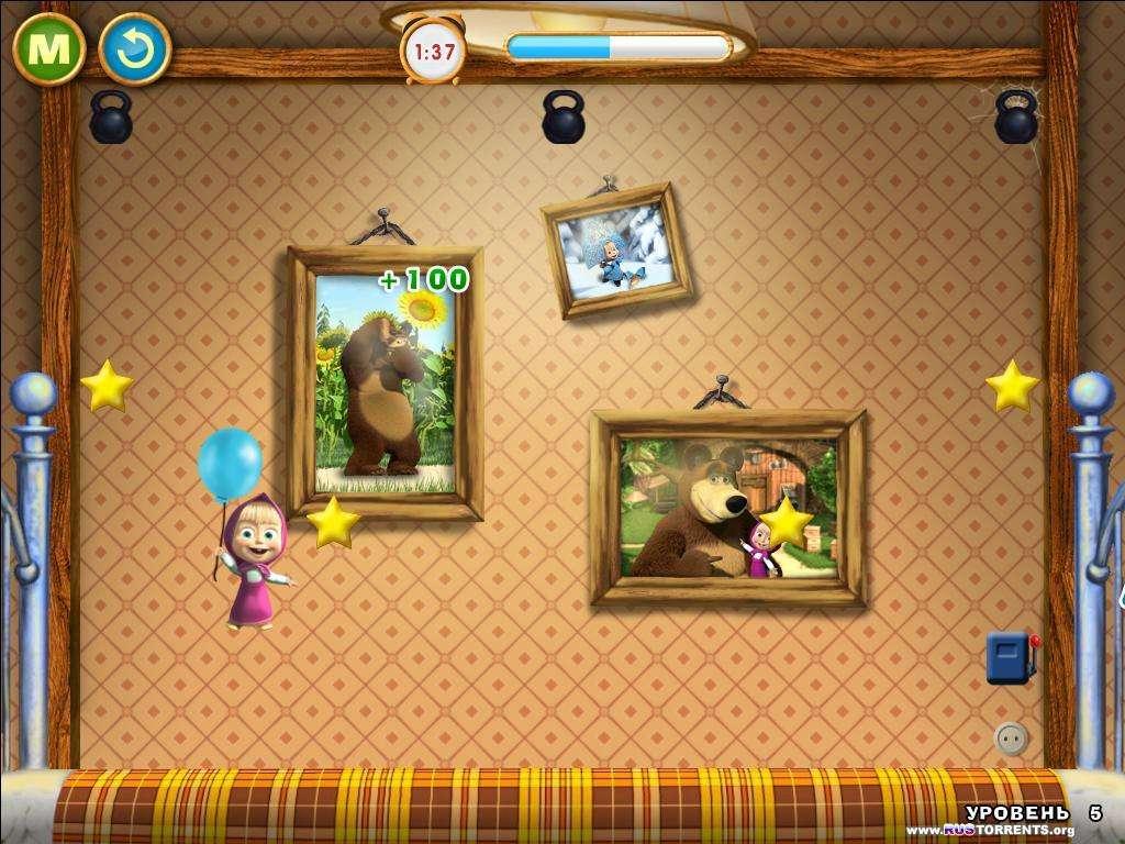 Маша и Медведь. Активные игры | PC