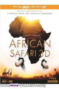 Африканское сафари 3D | BDRip 1080p | 3D-Video | halfOU | P2