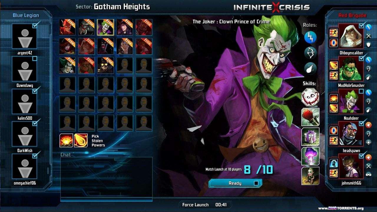 Infinite Crisis - Batman VS Superman | PC | RePack