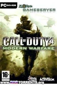 Call of Duty 4 - Modern Warfare ZlofenixServer [Multiplayer only]   Rip by MOP030B от Zlofenix