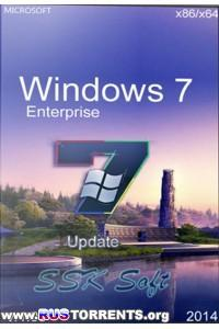 Windows 7 Enterprise SSK Soft x86/x64 v.1.05 (2014) Rus