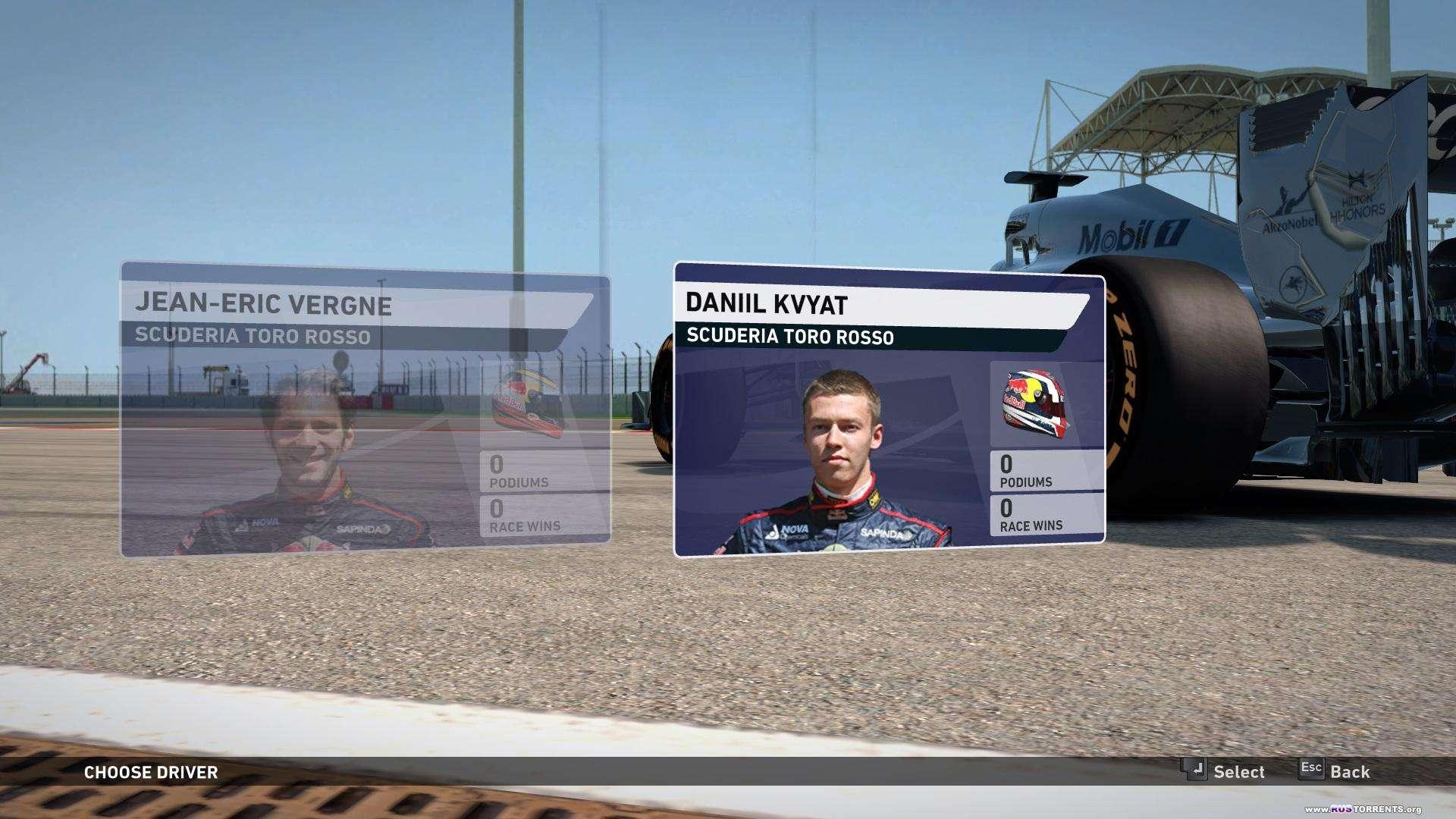 F1 2014 | РС | Лицензия