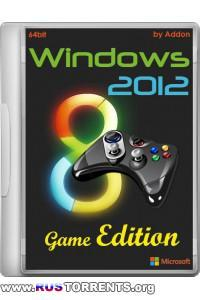 Windows 2012 Game Edition by Addon (64bit) Русский