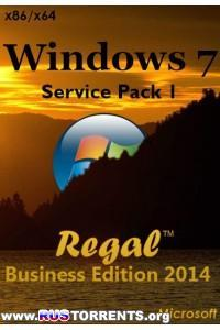 Windows 7 Professional SP1 Regal Business Edition х86/х64 by Nishant ENG/RUS