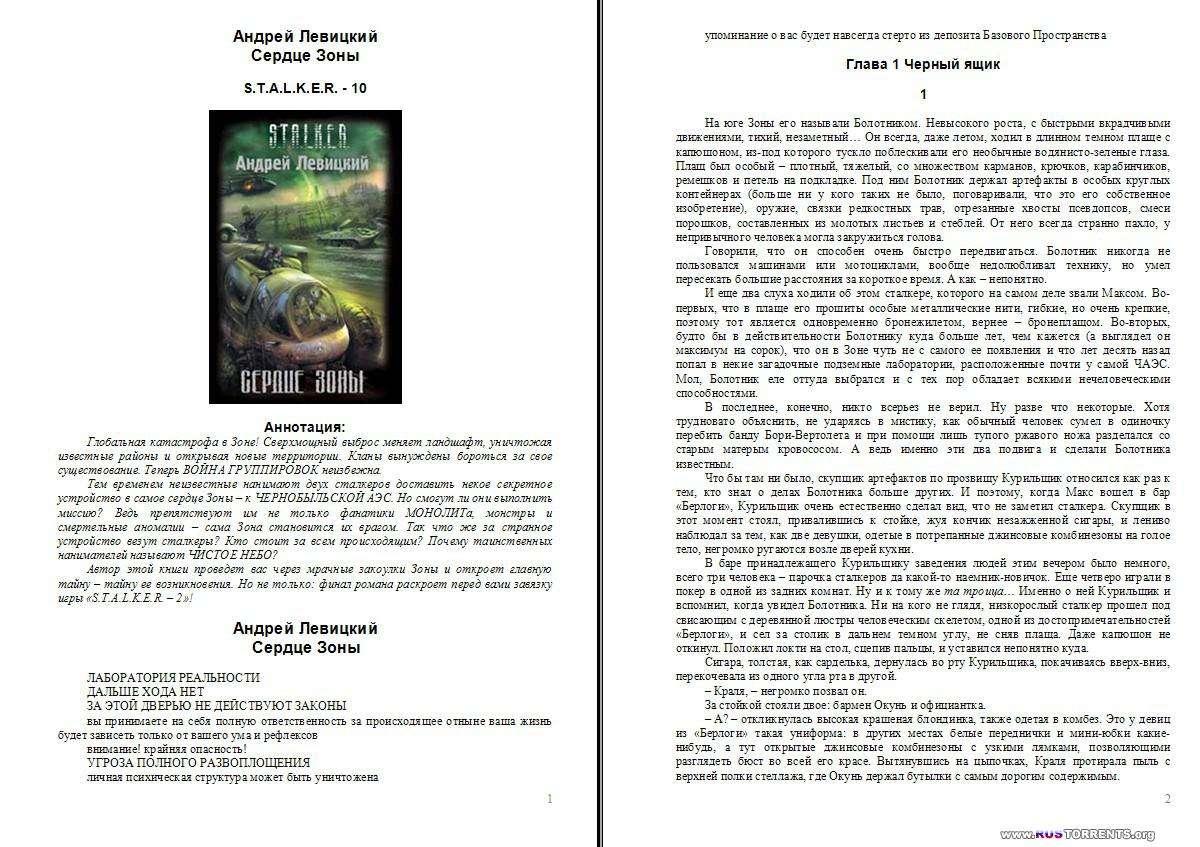 Авторские серии - проект «S.T.A.L.K.E.R» [161 книга] | FB2