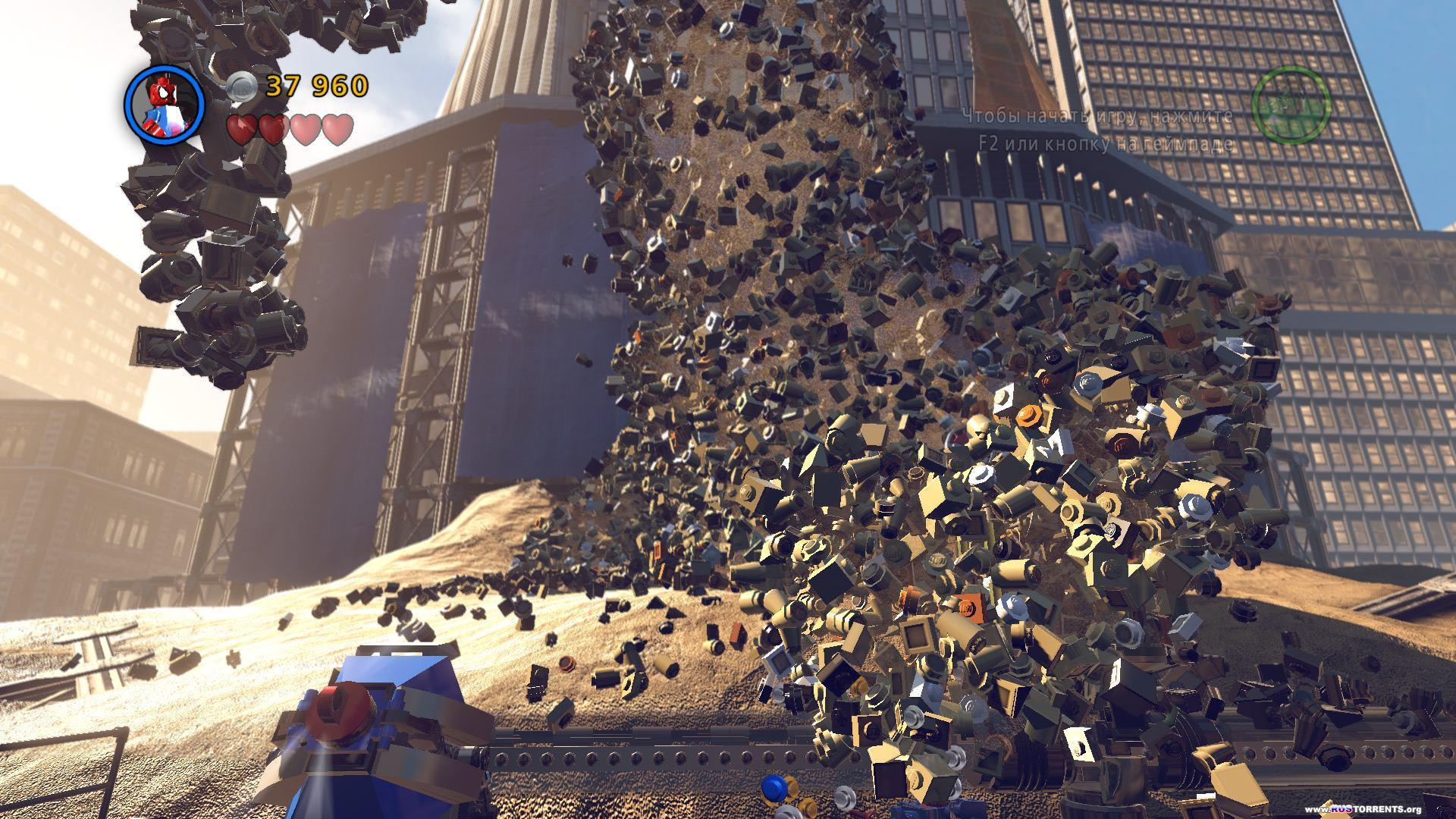LEGO Marvel Super Heroes [+2 DLC] | RePack от xatab