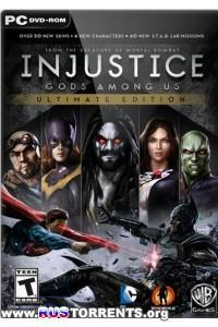 Injustice: Gods Among Us. Ultimate Edition [Update 5] | PC | RePack от R.G. Catalyst