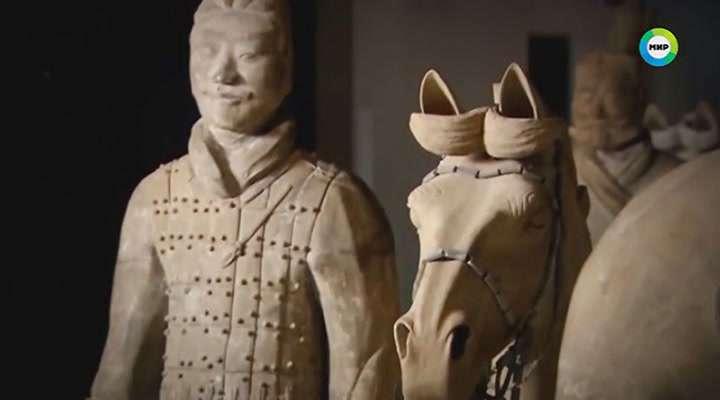 Земля. Территория загадок. Глиняная армия императора Цинь | SATRip