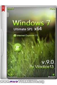 Windows 7 Ultimate SP1 x64 by Vladios13 v.9.0 (19.06.2014) RUS