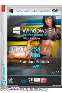Windows 8.1 With Update Pro x64/x86 Standart Edition v.2 + WPI by YelloSOFT