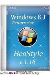 Windows 8.1 Enterprise x86/x64 UPD BeaStyle v.1.16 RUS