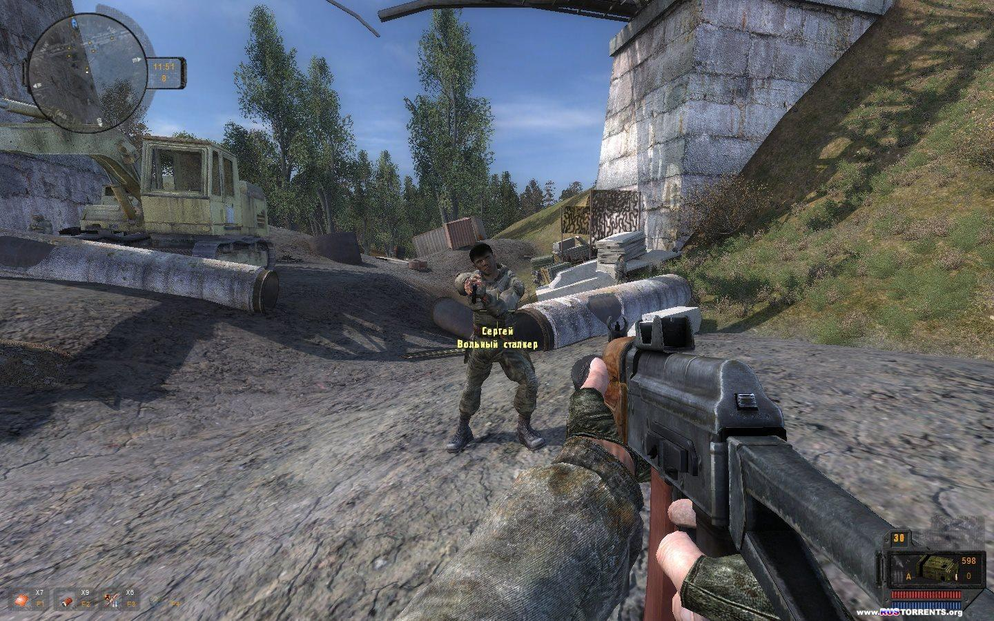 S.T.A.L.K.E.R.: Call Of Pripyat - ���� � ������� + Add-on | RePack by SeregA-Lus