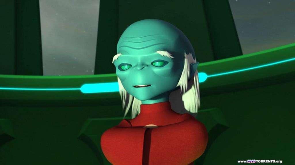 Зеленый Фонарь: Анимационный сериал [01x01-26 из 26] | DVDRip-AVC | Лицензия