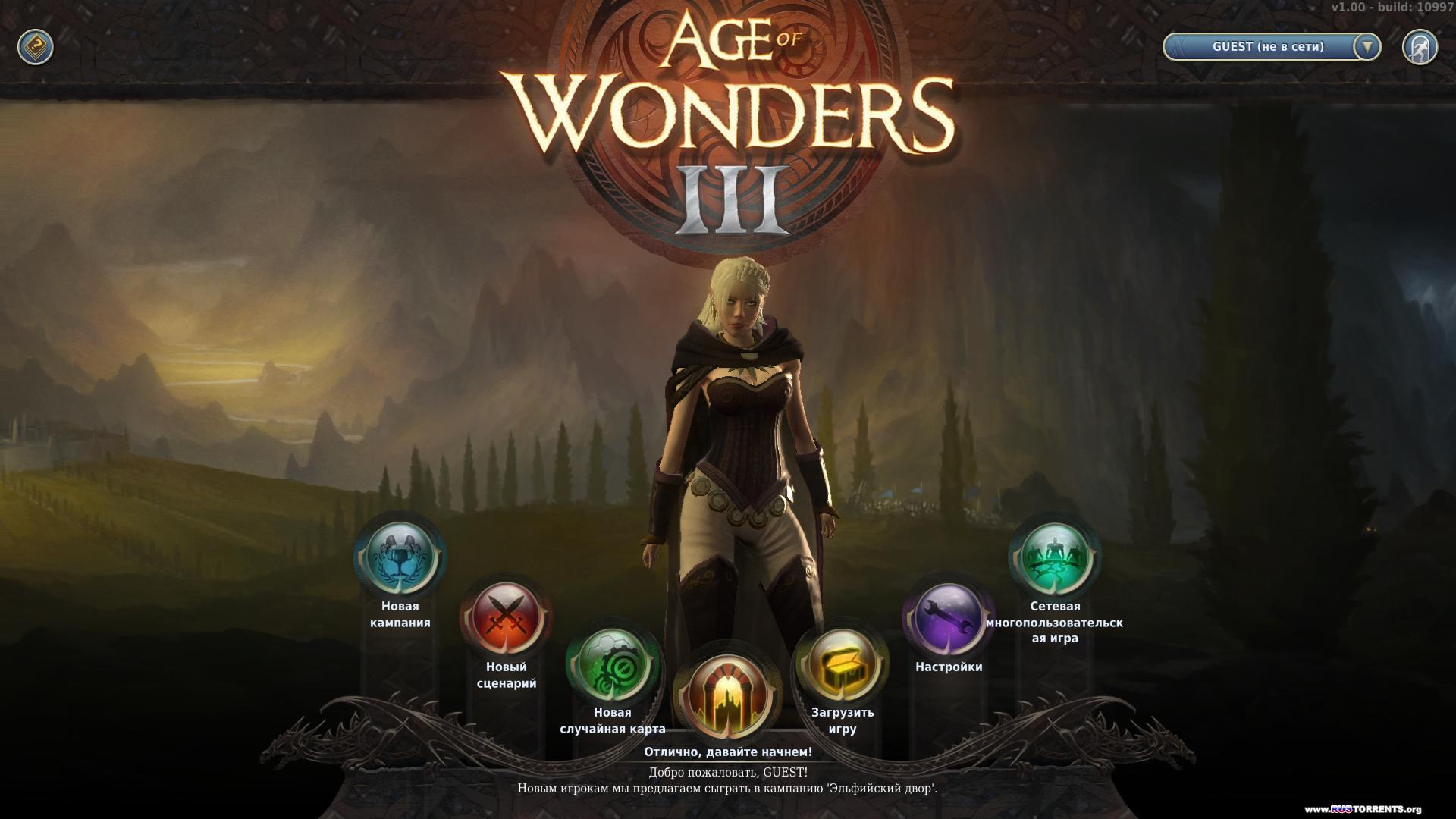 Age of Wonders 3: Deluxe Edition [v 1.427 + 3 DLC] | PC | RePack ��: R.G. Steamgames