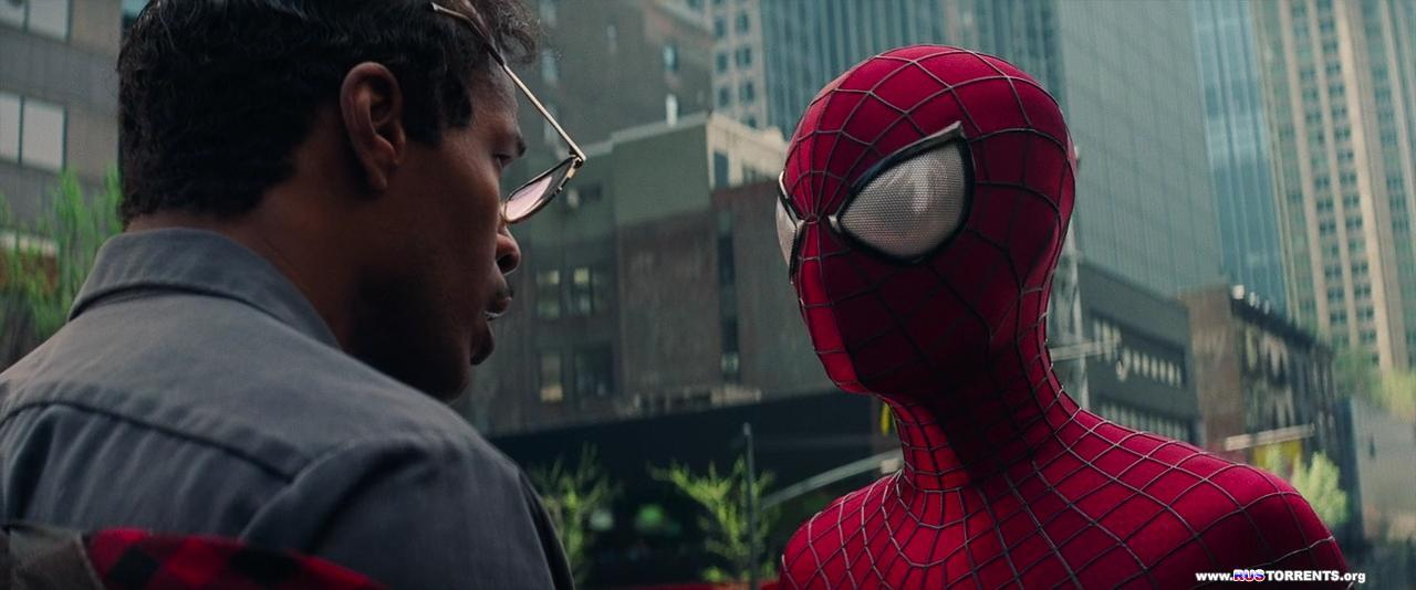 Новый Человек-паук: Высокое напряжение | BDRip 720p | Лицензия