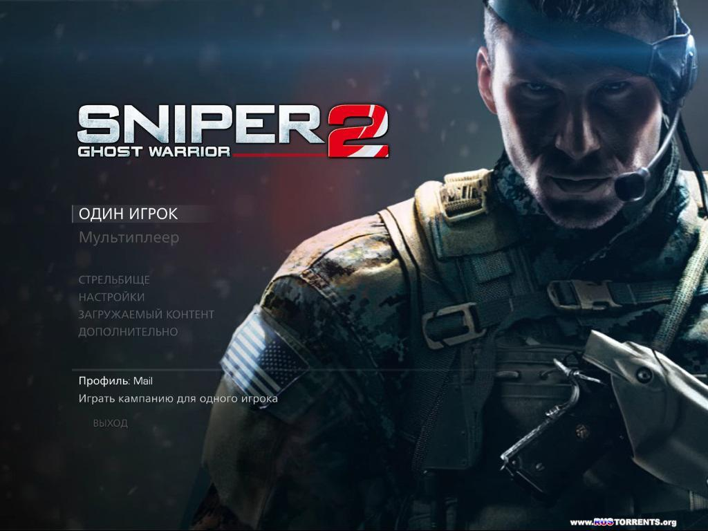 Sniper - Ghost Warrior 2 (City Interactive) (RUS/ENG) [RePack] R.G. Revenants