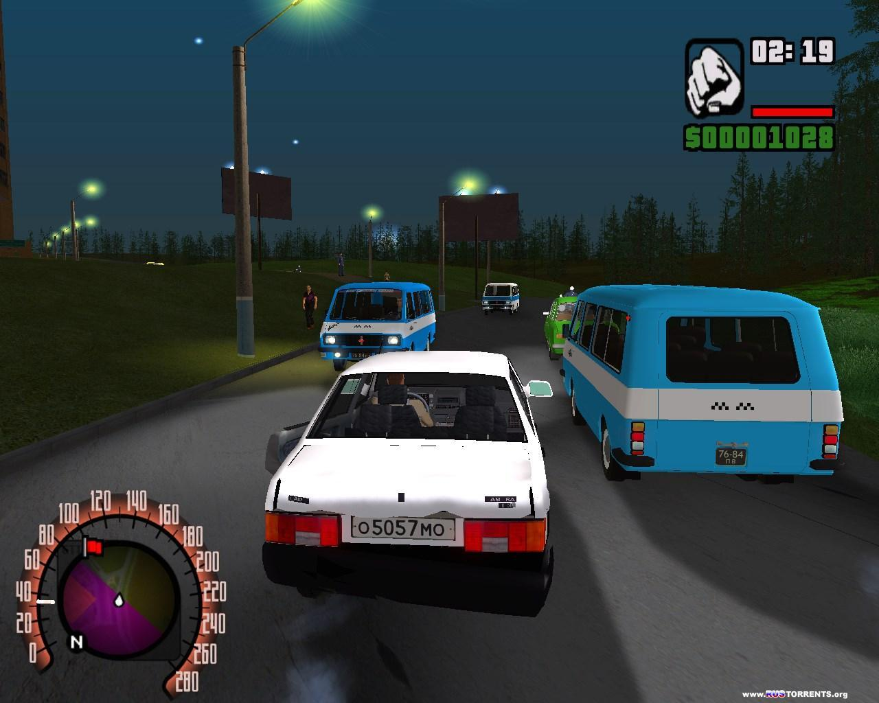 Grand Theft Auto: San Andreas - Criminal Russia | РС