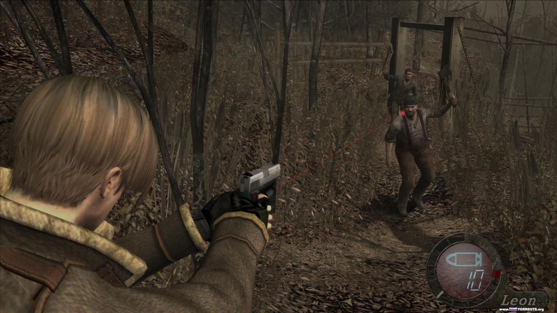 Resident Evil 4   Biohazard 4 Ultimate HD Edition   PC   Steam-Rip от R.G. Игроманы
