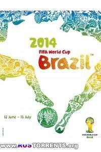 Футбол. Чемпионат мира 2014. Группа G. 1 тур. Гана — США | HDTVRip 720р