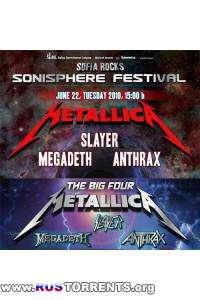 Sonisphere Bulgaria 2010 - The Big Four