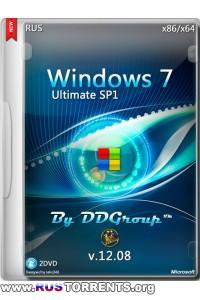 Windows 7 SP1 Ultimate x86/x64 v.12.08 by DDGroup 12.08.2014 RUS | РС