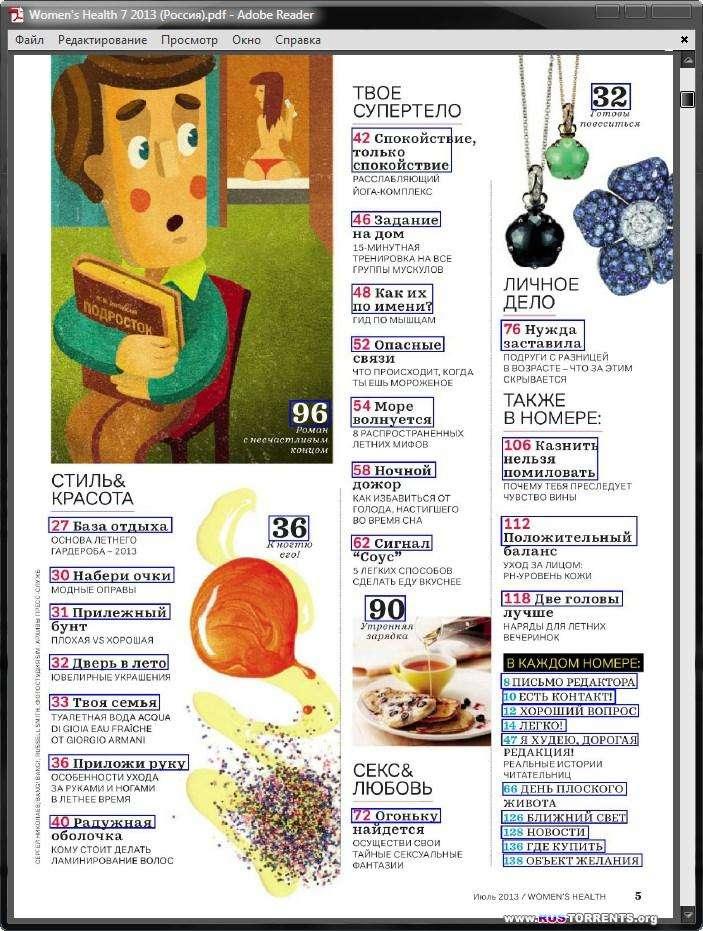 Women's Health (Россия) Коллекция [38 номеров] | PDF
