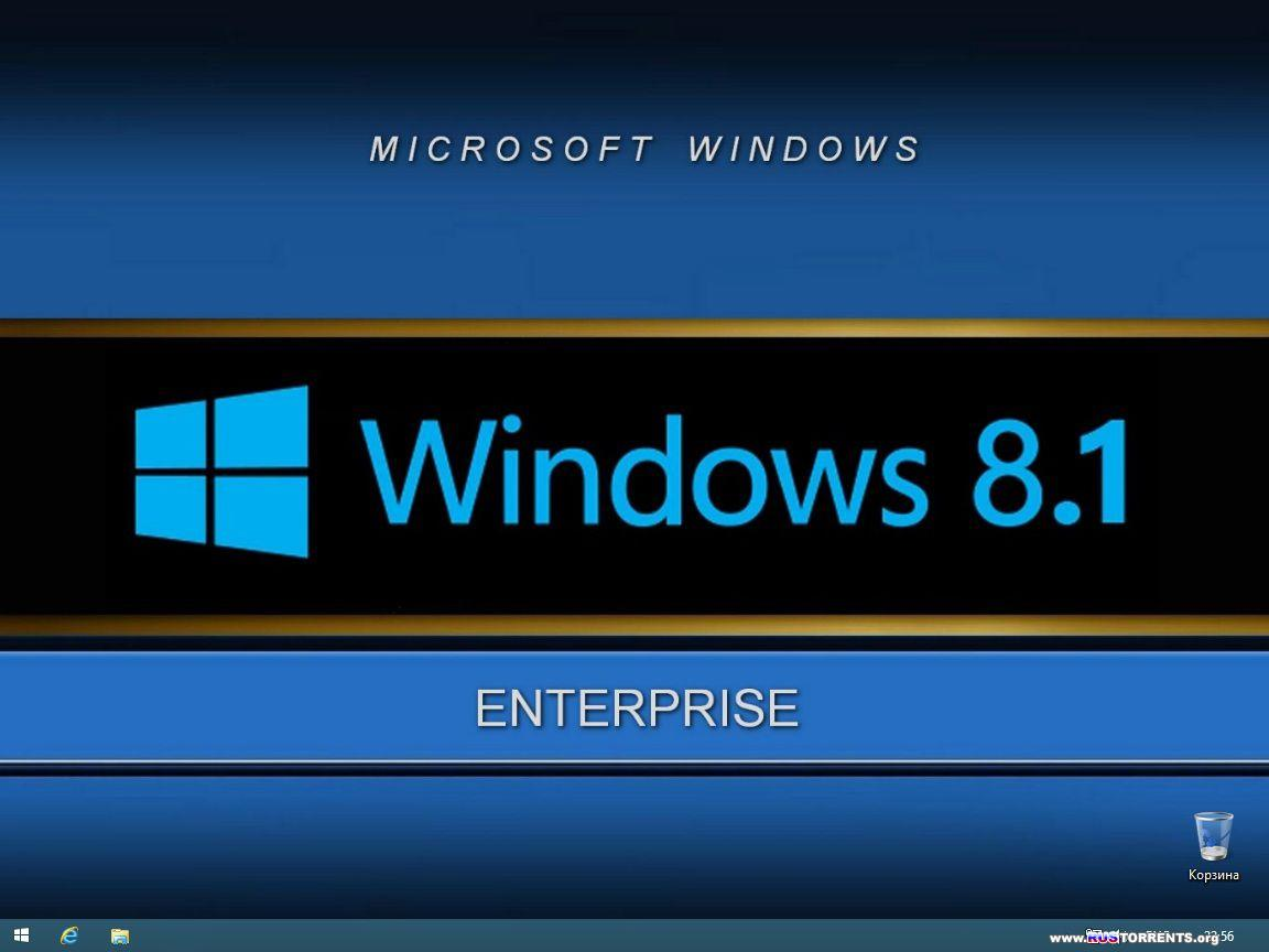 Windows 8.1 Enterprise x86/x64 Elgujakviso Edition