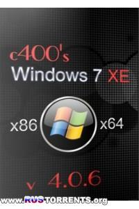 c400's Windows 7 XE v.4.0.6 x86/x64 RUS/ENG