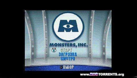 Корпорация монстров   PSX-PSP