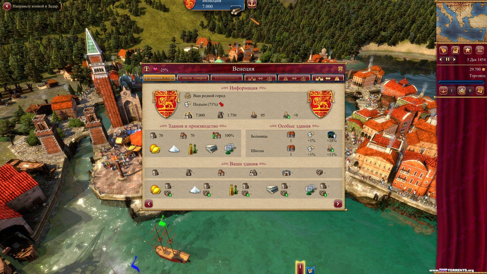 Rise of Venice [v 1.1.2 + 3 DLC] | PC | Repack от Fenixx