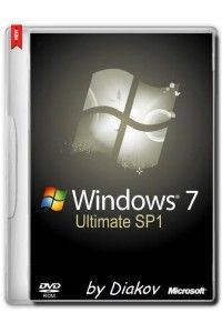 Windows 7 Ultimate SP1 Original by D!akov 22.02.2015 (x86/x64/RUS/ENG/UKR)