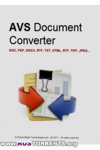 AVS Document Converter 2.3.1.232 [Ru/En
