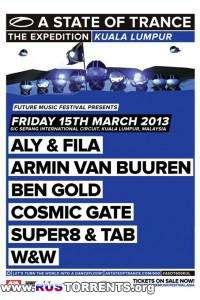 Armin van Buuren - A State Of Trance Episode 600 - Live Kuala Lumpur, Malaysia [15.03.2013]
