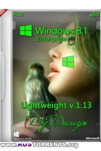 Windows 8.1 Enterprise x64 Lightweight v.1.13 by Ducazen RUS