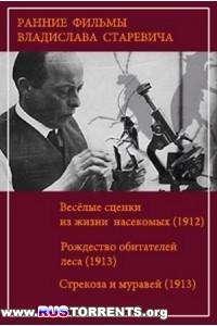 Ранние анимационные фильмы Владислава Старевича | DVDRip