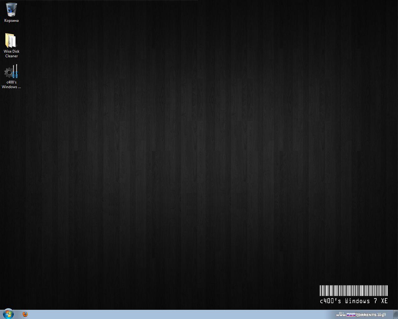 c400's Windows 7 XE v.4.0.6 x86/x64 RUS/ENG