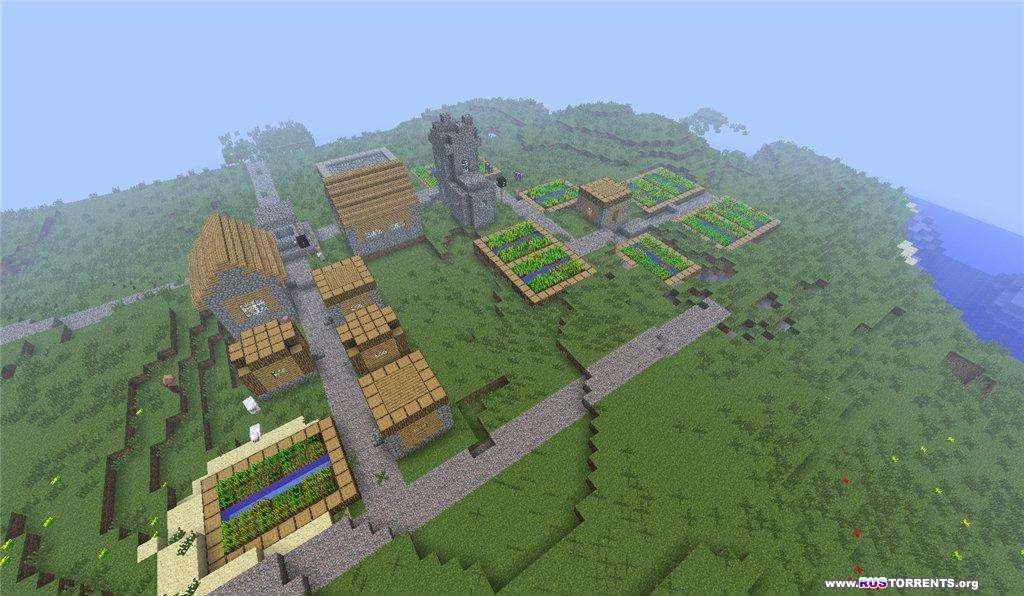 Minecraft 1.7.10  (10.13.0.1186) | PC | [�]