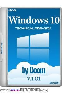 Windows 10 Technical Preview х86/х64 by Doom v.1.01 ENG/RUS