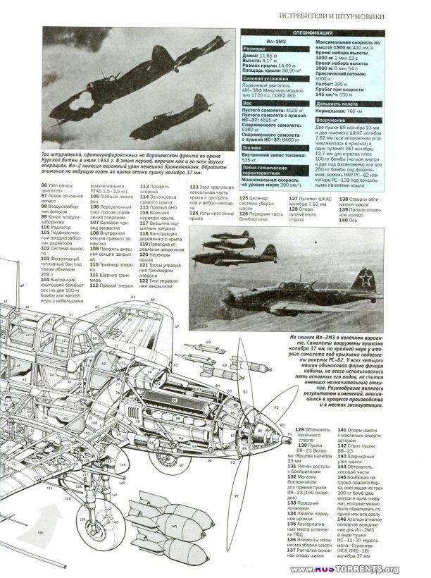 Самолеты Второй мировой войны. 1939-1945. Уникальные рисунки и чертежи