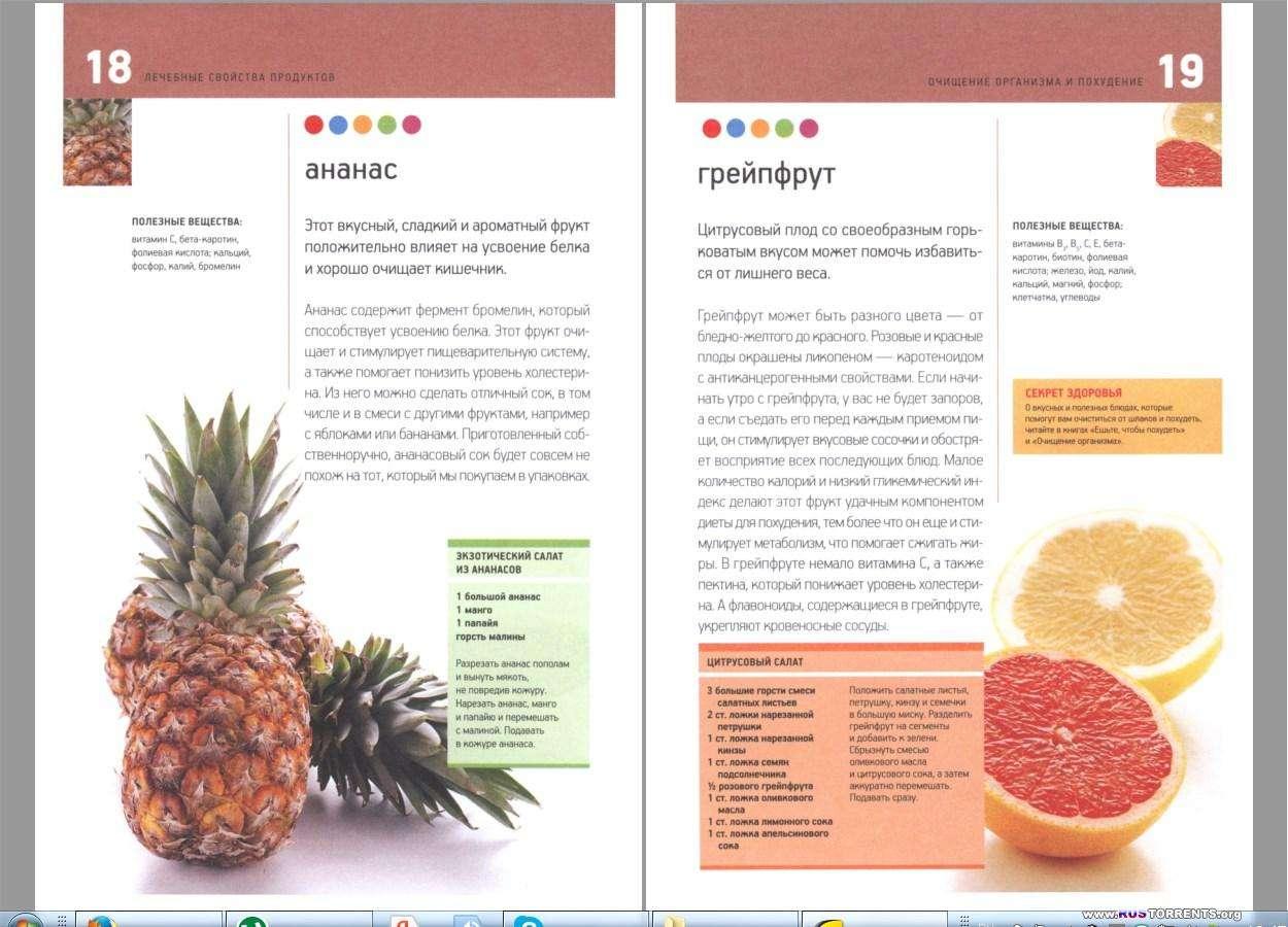 Лечебные свойства продуктов