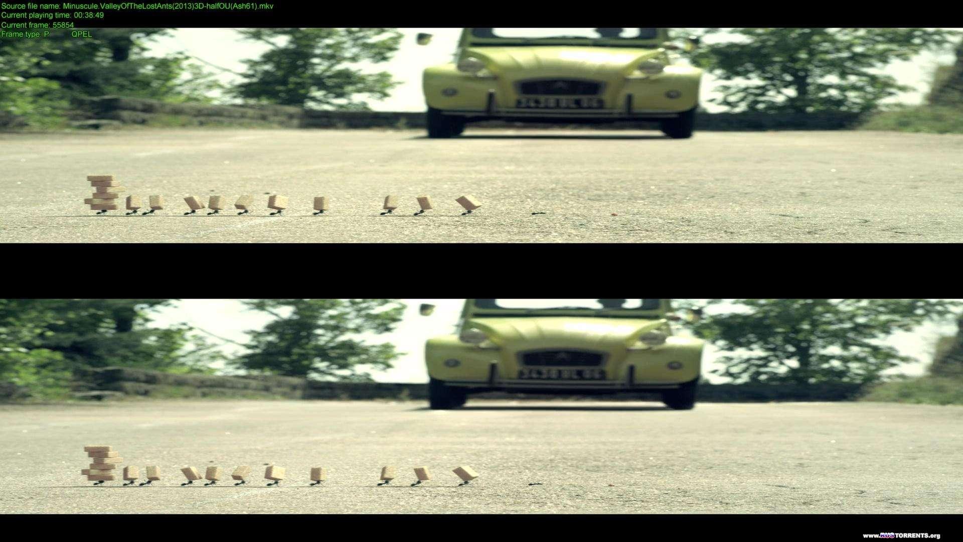 Букашки. Приключение в Долине муравьев | BDRip 1080p | 3D-Video | halfOU