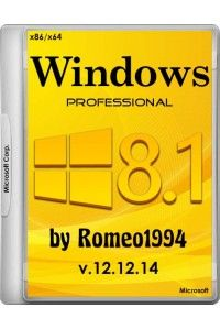 Windows 8.1 Professional v.12.12.14 by Romeo1994 (х86/х64) RUS